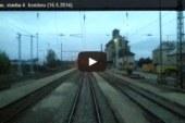 Videa z úseku Horusice – Veselí n.L. – Soběslav