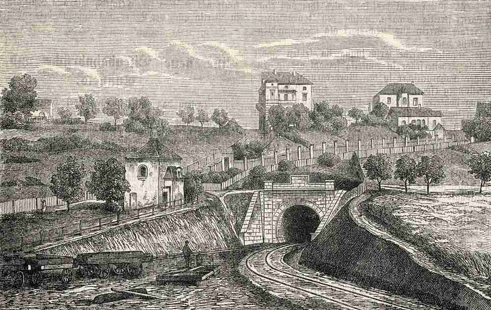 Vinohradský tunel (I.) 1873