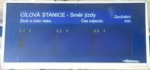 Informační LCD panel