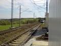 První vlak vjíždí do Odbočky z Benešova