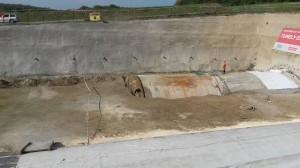 Prorážka severního tubusu tunelu Ejpovice 7.10.2017