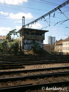 Praha-Vršovice - bývalá stavědlová věž St.3; 2016