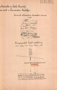 Červený Hrádek (u Sedlčan) - projekt zastávky, 1905