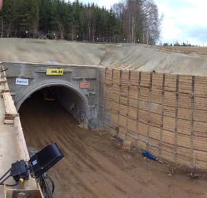 Ješetice - tunel Deboreč