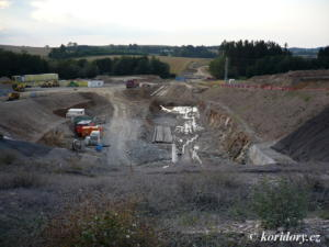 Sudoměřice - Votice: tunel Mezno