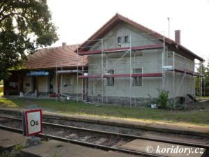 Štětkovice - rekonstrukce nádraží, 2020
