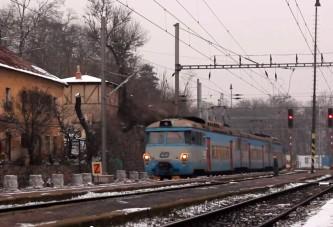Vzpomínka na pravidelný provoz v železniční stanici Praha-Bubeneč