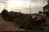 Sudoměřice – Tábor. Video z průjezdu stavbou koridoru.
