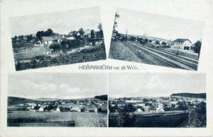 Heřmaničky na dráze Wilsonově kolem roku 1930