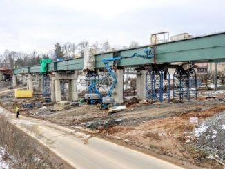 Železniční estakáda u Heřmaniček (Autor: Správa železnic)